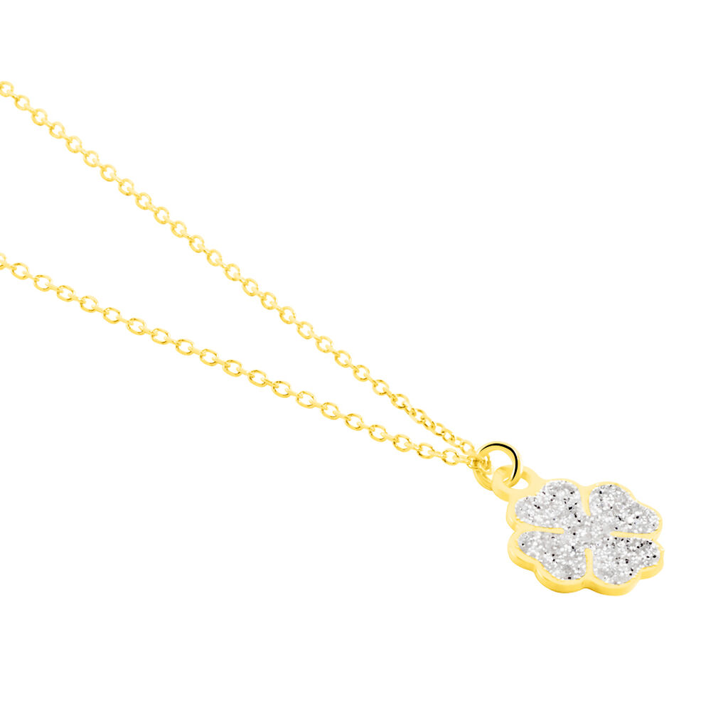 Collier Or Jaune Gontranie - Colliers Trèfle Femme | Histoire d'Or
