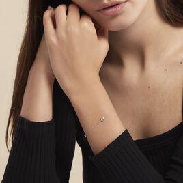 Bracelet Airy Or Blanc Topaze - Bijoux Femme | Histoire d'Or