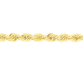 Collier Or Jaune Maille Corde - Chaines Femme | Histoire d'Or