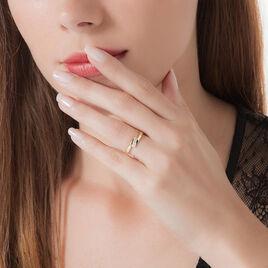 Bague Galya Or Jaune Diamant - Bagues avec pierre Femme | Histoire d'Or