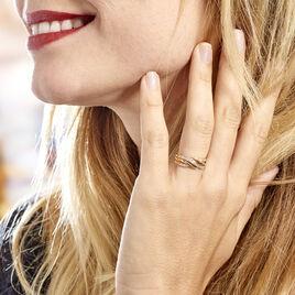 Bague Or Jaune Rodhia Diamants - Bagues avec pierre Femme | Histoire d'Or