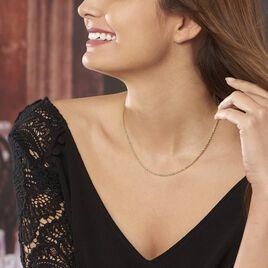 Collier Or Jaune Maille Corde - Bijoux Femme | Histoire d'Or