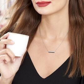 Collier Elianna Argent Blanc Oxyde De Zirconium - Colliers fantaisie Femme | Histoire d'Or