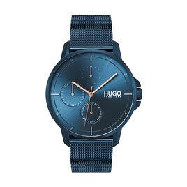 Montre Hugo Focus Bleu - Montres tendances Homme   Histoire d'Or