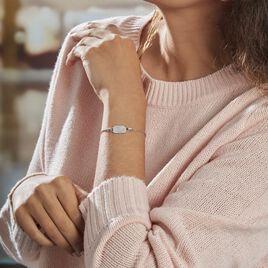 Bracelet Lenus Argent Rhodié Oxydes De Zirconium - Bracelets fantaisie Femme   Histoire d'Or