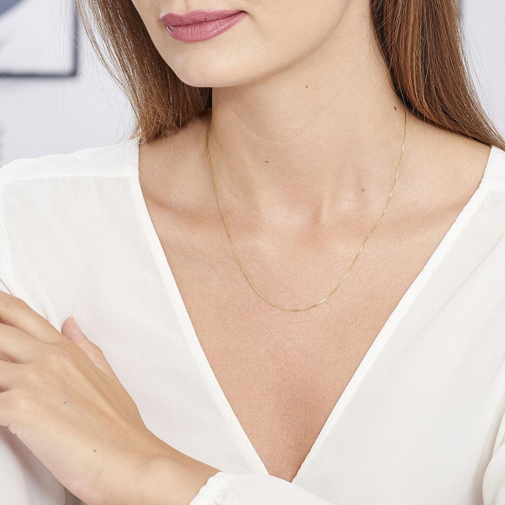 Chaîne Igor Maille Venitienne Or Jaune - Chaines Femme   Histoire d'Or