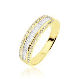 Bague Eugenie Or Jaune Diamant - Bagues avec pierre Femme | Histoire d'Or