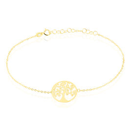 Bracelet Clemenca Or Jaune - Bracelets Arbre de vie Femme | Histoire d'Or