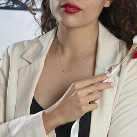 Collier Delfina Or Blanc Diamant - Bijoux Femme | Histoire d'Or