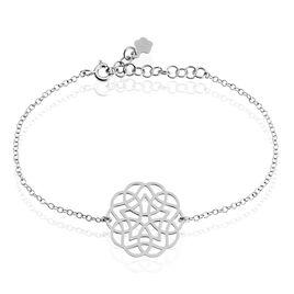 Bracelet Kaylane Argent Blanc - Bracelets chaîne Femme | Histoire d'Or