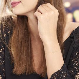 Bracelet Saraya Or Jaune - Bijoux Femme | Histoire d'Or