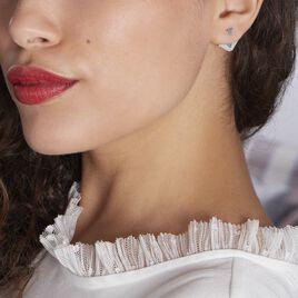 Bijoux D'oreilles Bala Argent Rhodiè - Boucles d'oreilles fantaisie Femme | Histoire d'Or