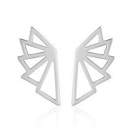 Boucles D'oreilles Pendantes Osaka Acier Blanc - Boucles d'oreilles fantaisie Femme | Histoire d'Or