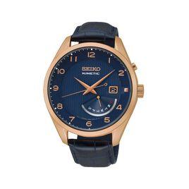 Montre Seiko Classique Kinetic Bleu - Montres classiques Homme | Histoire d'Or