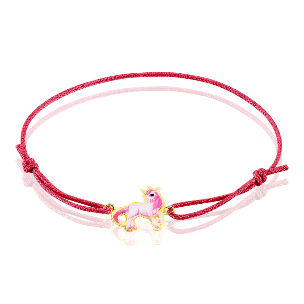 Bracelet Fantasila Cheval Or Jaune - Bracelets Naissance Enfant   Histoire d'Or