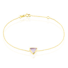 Bracelet Or Jaune Amethyste - Bijoux Femme | Histoire d'Or