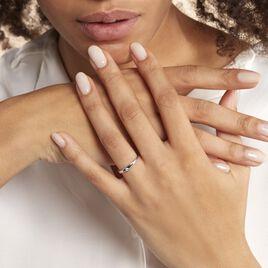 Bague Lou Or Blanc Diamant - Bagues solitaires Femme | Histoire d'Or
