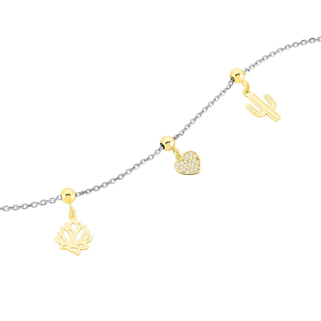 Charms Halie Or Jaune - Charms Femme | Histoire d'Or
