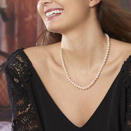Collier Vincilia Or Jaune Perle De Culture - Bijoux Femme | Histoire d'Or