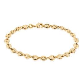 Bracelet William Plaqué Or Jaune - Bracelets chaîne Femme | Histoire d'Or