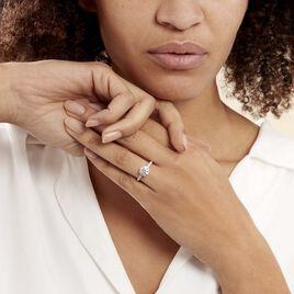 Bague Solitaire Terese Or Jaune Oxyde De Zirconium - Bagues solitaires Femme | Histoire d'Or