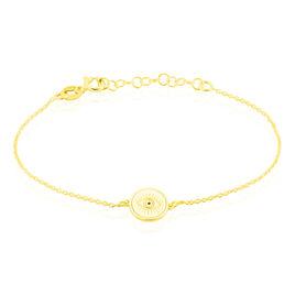 Bracelet Argent Jaune - Bracelets fantaisie Femme | Histoire d'Or