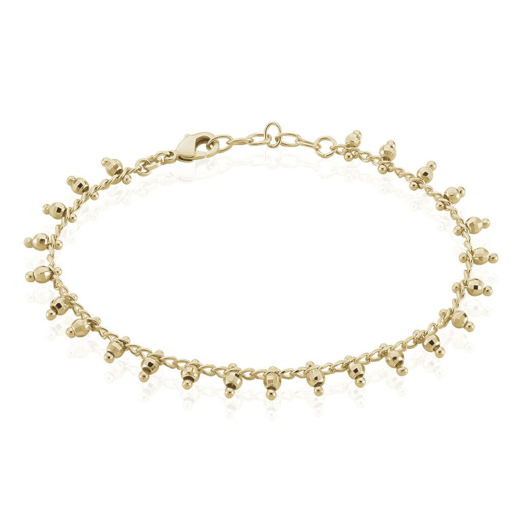 Bracelet Neria Plaque Or Jaune - Bracelets fantaisie Femme | Histoire d'Or