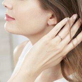 Bague Smina Or Jaune Diamant - Bagues avec pierre Femme | Histoire d'Or