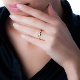 Bague Solitaire Camilia Or Jaune Oxyde De Zirconium - Bagues solitaires Femme   Histoire d'Or