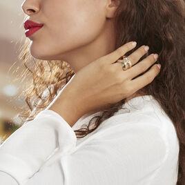 Bague Attalia Plaque Or Jaune - Bagues fantaisie Femme | Histoire d'Or
