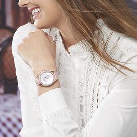 Montre Guess Tri Glitz Blanc - Montres tendances Femme | Histoire d'Or