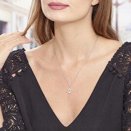 Collier Istanbul Argent Blanc Oxyde De Zirconium - Colliers fantaisie Femme | Histoire d'Or