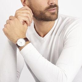 Montre Pierre Lannier Collection Elegance Style Blanc - Montres tendances Homme | Histoire d'Or