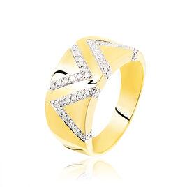 Bague Zorah Or Jaune Diamant - Bagues avec pierre Femme | Histoire d'Or