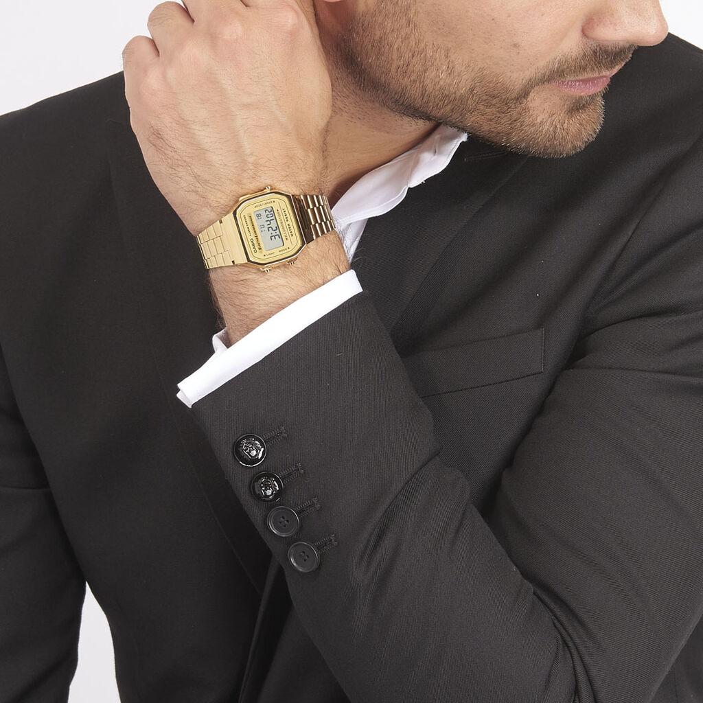 Montre Casio Collection Vintage 2 Tons - Montres Homme   Histoire d'Or