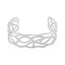 Bracelet Jonc Aelis Acier Blanc - Bracelets fantaisie Femme | Histoire d'Or