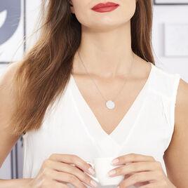 Collier Almira Argent Blanc - Colliers fantaisie Femme | Histoire d'Or