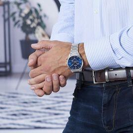 Montre Festina Timeless Chronograph Bleu - Montres sport Homme | Histoire d'Or