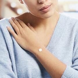 Bracelet Gabrielo Or Jaune - Bijoux Femme   Histoire d'Or