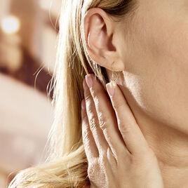 Boucles D'oreilles Pendantes Baroque Or Rose Perles De Culture - Boucles d'oreilles pendantes Femme | Histoire d'Or