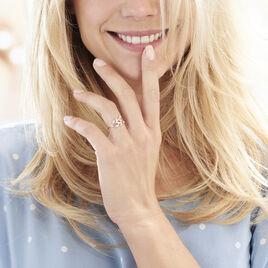 Bague Emelyne Or Rose Diamant - Bagues avec pierre Femme | Histoire d'Or