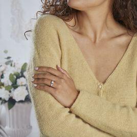 Bague Solitaire Ingrid Or Blanc Diamant - Bagues solitaires Femme | Histoire d'Or
