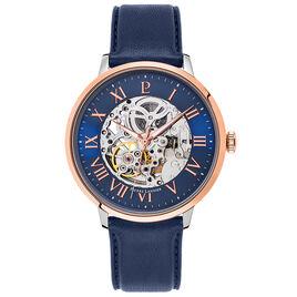 Montre Pierre Lannier Collection Automatic Bleu - Montres Homme | Histoire d'Or