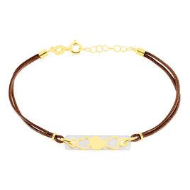 Bracelet Nohelaae Or Jaune Nacre - Bracelets Coeur Femme   Histoire d'Or