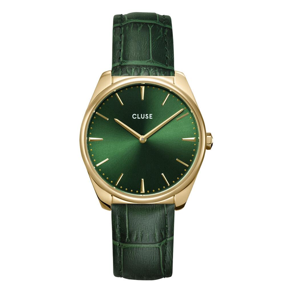 Montre Cluse Feroce Vert - Montres tendances Femme | Histoire d'Or