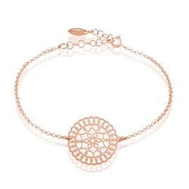 Bracelet Rotonda Argent Rose - Bracelets fantaisie Femme | Histoire d'Or
