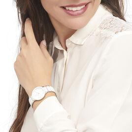 Montre Pierre Lannier Elegance Ceramique Blanc - Montres Femme   Histoire d'Or