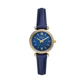 Montre Fossil Carlie Mini Bleu - Montres Femme | Histoire d'Or