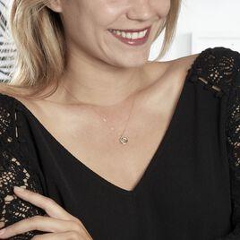 Collier Syrena Or Jaune Diamant - Bijoux Femme   Histoire d'Or