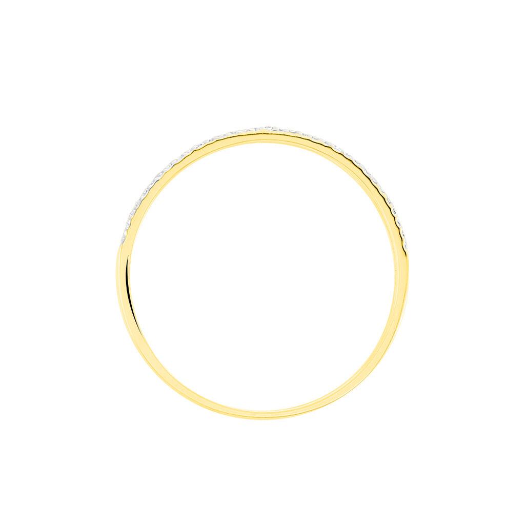 Bague Olena Or Jaune Diamant - Bagues avec pierre Femme | Histoire d'Or